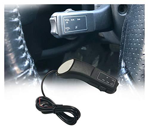 XINGFUQY Accesorios Interiores de automóviles Música Audio de Audio Volumen Ajuste Botón Interruptor de Volante Ajuste para VW Golf 4 5 Ajuste para Jetta MK4 MK5 Fit para Santana