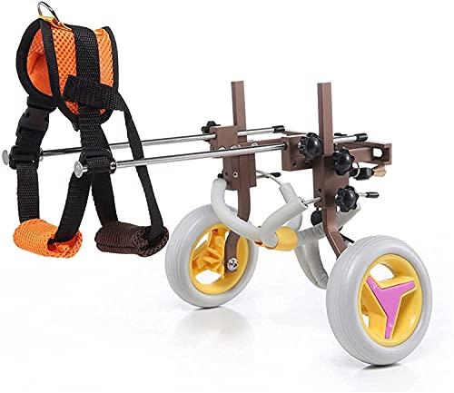VTAMIN Fauteuil roulant de chiens Pet Honed jambe marche assistée Paralysée ancienne animal de compagnie exercice danimal de compagnie ajustable en fauteuil roulant pour chien CAT Care chien de moins