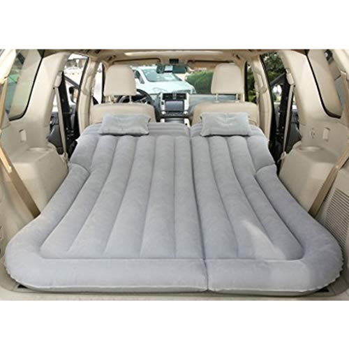 SjYsXm Multifunctional Car Air Mattress Camping Bed,Outdoor SUV Dedicated Mobile Cushion Extended Travel Mattress Air Bed Inflatable for SUV Back Seat,Fit 95% SUV with Pump