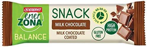 Enerzona Snack 40-30-30 Confezione da 30 Barrette Gusto Milk