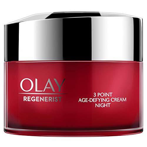 Olay Regenerist Crema de noche, Crema facial de noche sin fragancia con niacinamida y péptidos, 15 ml