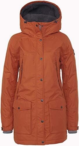 Varg Åre Eco Parka Jacke Damen Rust orange Größe M 2020 Funktionsjacke