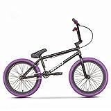 GASLIKE Bici BMX, Ruote da 20 Pollici, Principianti a Ciclisti intermedi, Telaio in Cromo-molibdeno ad Alta Resistenza, Freno a Forma di U Posteriore