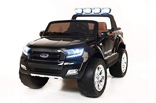 RC Kinderauto kaufen Kinderauto Bild 1: RIRICAR Ford Ranger Wildtrak 4X4 LCD Luxury, Elektro Kinderfahrzeug, LCD-Bildschirm, schwarz - 2.4Ghz, 2 x 12V, 4 X Motor, Fernbedienung, 2-Sitze in Leder, Soft Eva Räder, Bluetooth*