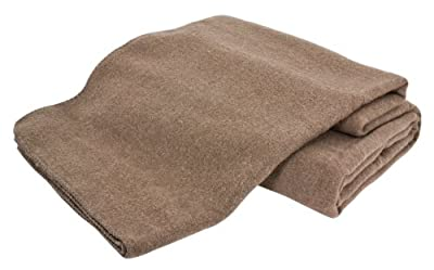 Creswick Australian Mills Hobart Machine Washable Blanket, Full/Queen, Hazel