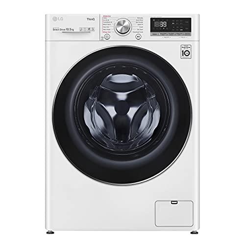 LG F4V910WTSE Freestanding Washing Machine 10.5L 1400RPM White