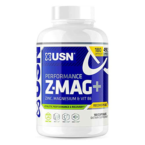 USN Supplements Z - Mag + Capsules, 180 Count