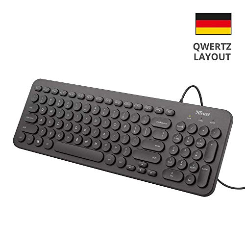 Trust MUTO Leise Tastatur