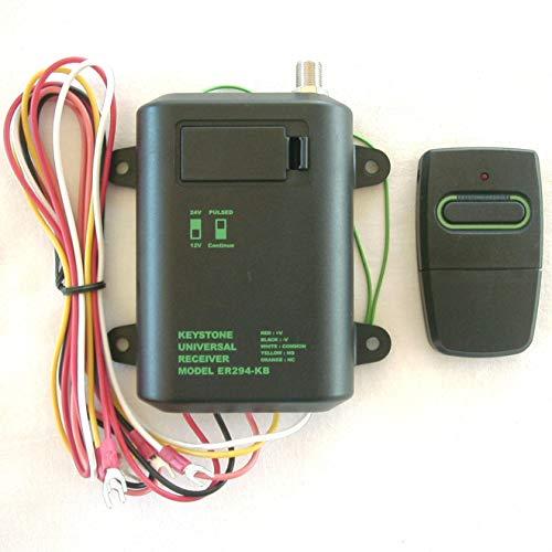 Best Buy! Heddolf ER294 and EX220 Long Range 1500Ft Gate Opener Receiver & 1 Remote Set