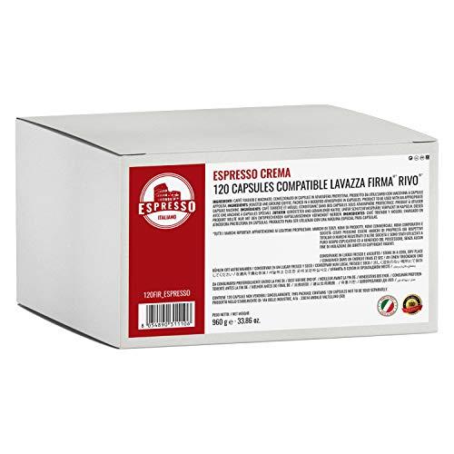 120 Capsule caffè Espresso Italiano Crema compatibili Lavazza Firma Vitha Group