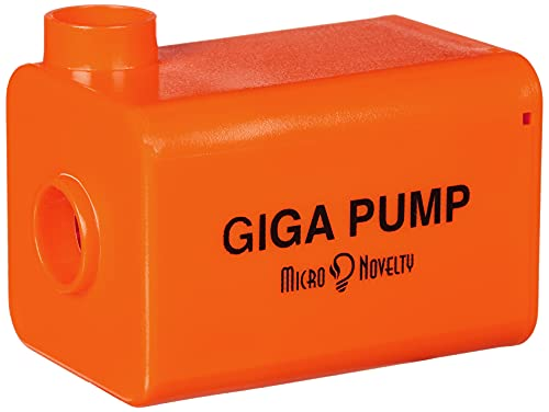 GIGA Pump - Portable Air Pump for Inflatables, Mini Air Pump Inflator USB Rechargeable, Waterproof DC Pump for Air Floats Mattress Balloon Swimming Rings Kid Toys Inflation-Deflation, 4 Nozzles