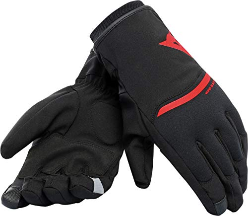 DAINESE Plaza 2 Unisex D-Dry Guanti, Rosso, XS