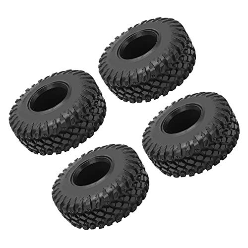 Pneu de substituição, pneus de borracha forte aderência para SCX10III para SCX10 para carro RC