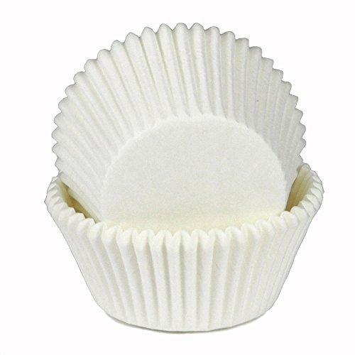 Chef Craft Parchment Paper Cupcake Liners, White