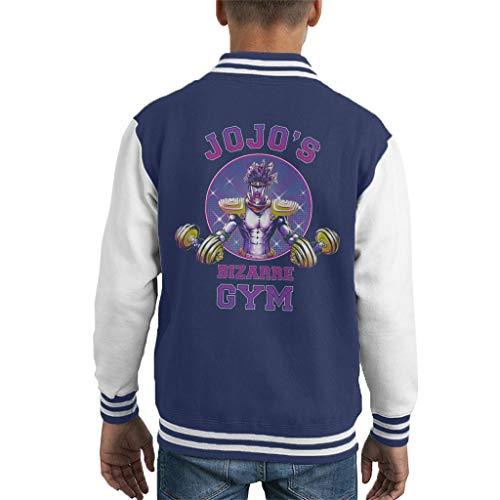 Star Platinum Jojos Bizarre Gym Kid's Varsity Jacket