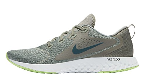 Nike Men's Legend React Low-Top Sneakers, Multicolour (Mica Green/Faded Spruce/Dark Stucco 001), 8.5 UK
