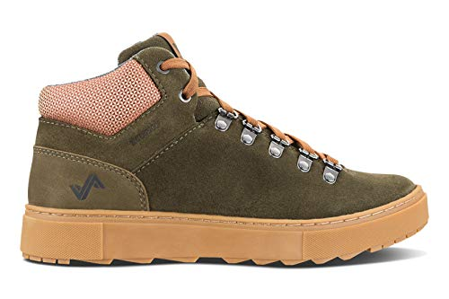 Forsake Lucie Mid - Women's Waterproof Leather Mid-Top (7.5 M US, Olive)