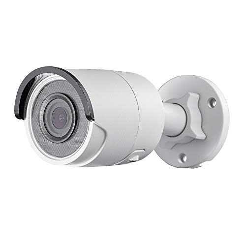 PoE Bullet Camera, Weatherproof Indoor/Outdoor Security Linovision IP Camera, 4MP, WDR, 100ft EXIR Night Vision, Motion Detection, Remote View, H.265+, 2.8mm Lens