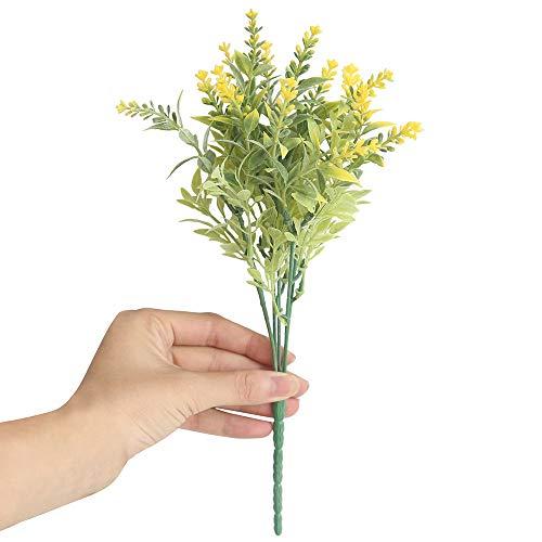 Snlaevx - Ramo de Flores de Lavanda para Boda, salón de Coche, decoración Artificial, Flores y Plantas