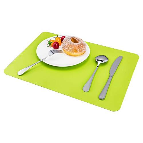 LJJ Placems de Silicona de 40x30cm para niños, tablilla Antideslizante Resistente al Calor, tapetes de Mesa de Comedor de Cocina colocan Estera (Color : 2)