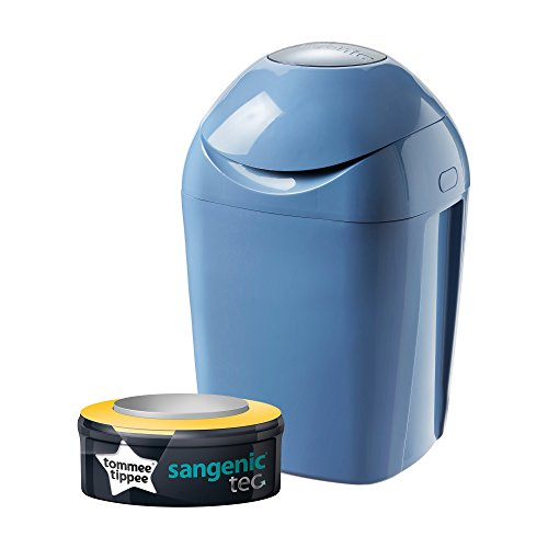 Tommee Tippee Sangenic Tec Boîte à couches Bleu