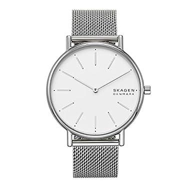 Skagen Women's Signatur Quartz Analog Stainless Steel and Stainless Steel Watch
