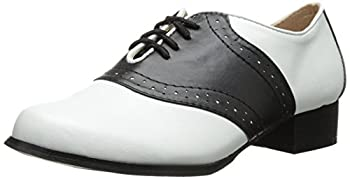 Ellie Shoes Men s 105-saddle Black/White 9