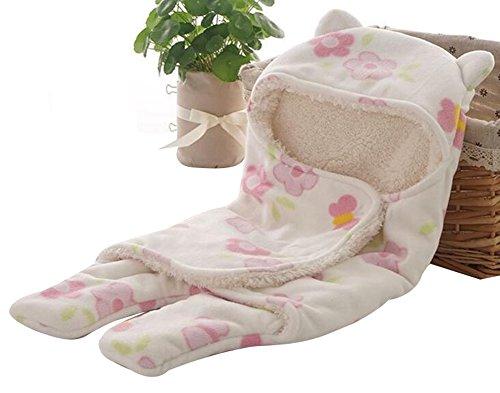 Manta de dormir para bebé de October Elf para niño recién, saco de dormir para otoño e invierno H Talla:S(25.6″X29.5″)