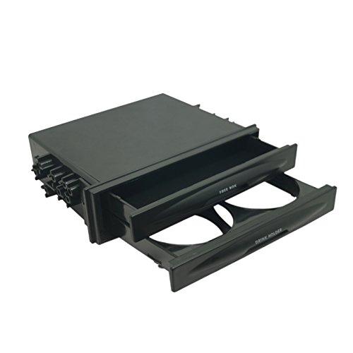 FEELDO Support de fixation pour tableau de bord stéréo de voiture 1 DIN