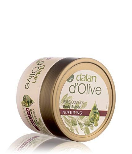 3 x Dalan d'Olive Body Butter - Intensivpflegecreme für alle Hauttypen - 250ml
