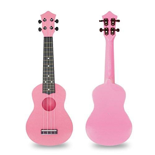 21 Inch Ukulele Soprano Hawaiian Guitar...