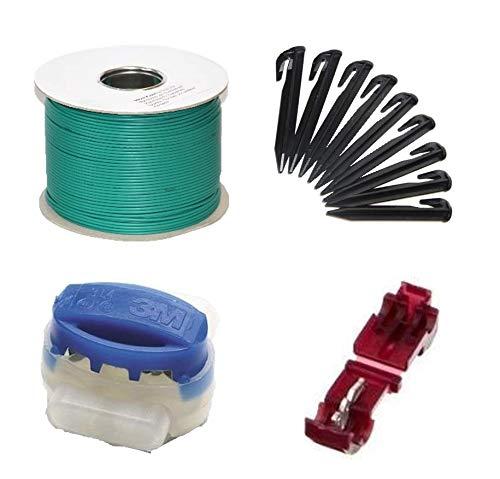 Genisys Installation Set M+ kompatibel mit Gardena ® R38Li R40Li R45Li Kabel Haken Verbinder Paket Kit