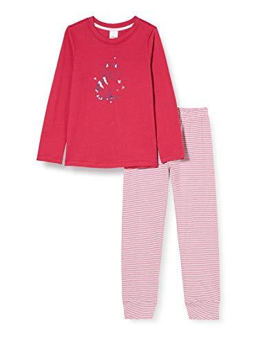 s.Oliver Mädchen Schlafanzug verry Berry Pyjamaset, Rosa, 116
