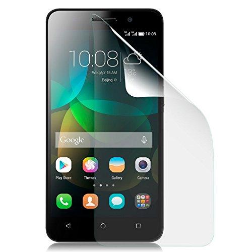 Saxonia Bildschirmschutzfolie für Huawei Honor 4C Folie Matt inkl. Mikrofasertuch