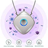 Best Air Ionizers - Portable Air Purifier, Necklace Wearable, Mini/Travel Size USB Review