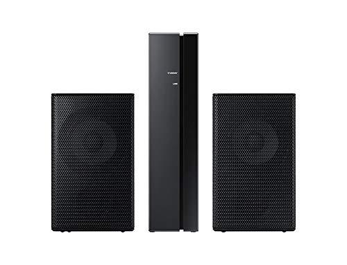 Samsung SWA9000S Kabellose hintere Lautsprecher, Set, mit integriertem WLAN, schwarz