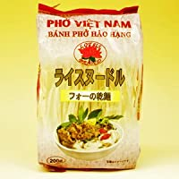ベトナムフォー 4mm 200g X10袋セット (グルテンフリー お米のうどん ライスヌードル ベトナム料理) (米麺 米粉麺) (Hoang Tuan)