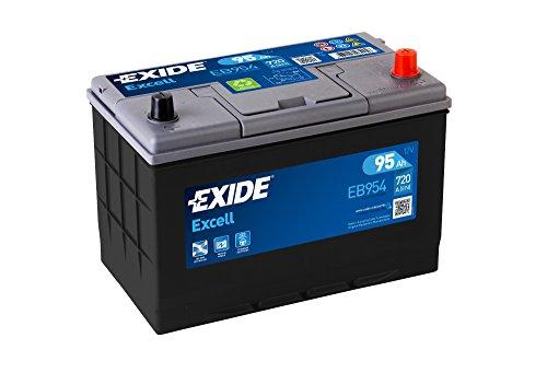 Exide 249Se EB954 - Batería para coche (95 Ah)