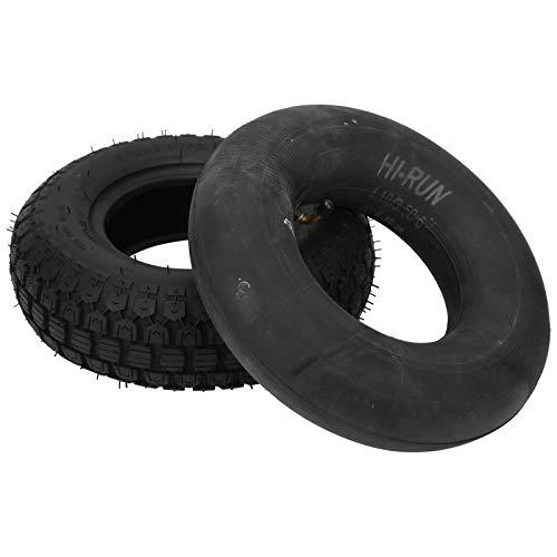 Älterer Elektroroller-Reifen, aufgepumpt 4.10/3.50-6 Reifen für Trolleys für Schubkarren für Rasenmäher