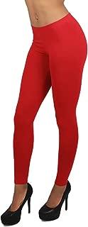World of Leggings MADE IN THE USA Women's Full Length Cotton Leggings - 14 Colors