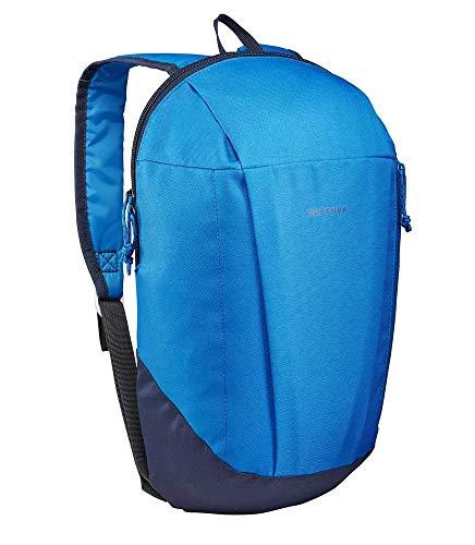 Quechua Mochila de senderismo NH100, 10 litros, color azul marino, unisex, para hombre, mujer y niños