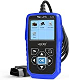 Heavy Duty Truck Scanner NL102 OBD/EOBD+HDOBD Diagnostic Scanner Scan Tools Engine ABS Transmission Check Trucks & Cars 2 in 1 Codes Reader[Upgrade Version]