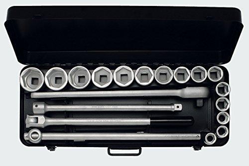 Elora 771-S15 MZ Steckschlüssel-Satz 3/4 Zoll, Sechskant, 21-teilig 21-50 mm