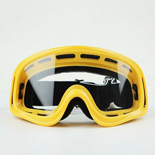 Sportbrillen Schutzbrillen-Motorrad-Schutzbrillen-Windschutzscheibe, Skibrille, Schwimmen-Schutzbrillen, PC-explosionssicheres Material