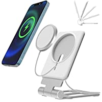 Maoyea Phone Stand for MagSafe Charger (Silver)