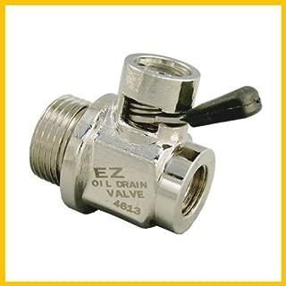 EZ (EZ-109) Silver 12mm-1.5 Thread Size Oil Drain Valve