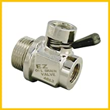 EZ (EZ-103) Silver 12mm-1.25 Thread Size Oil Drain Valve