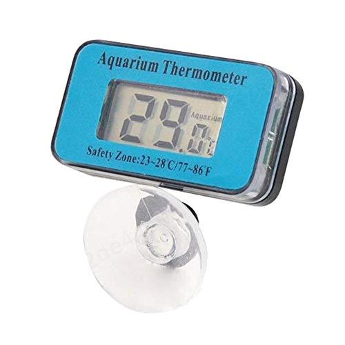 Insmart Medidor de Temperatura de termómetro LCD, Pantalla LCD de Acuario Sumergible Digital para Acuario 47 * 27 * 29 mm