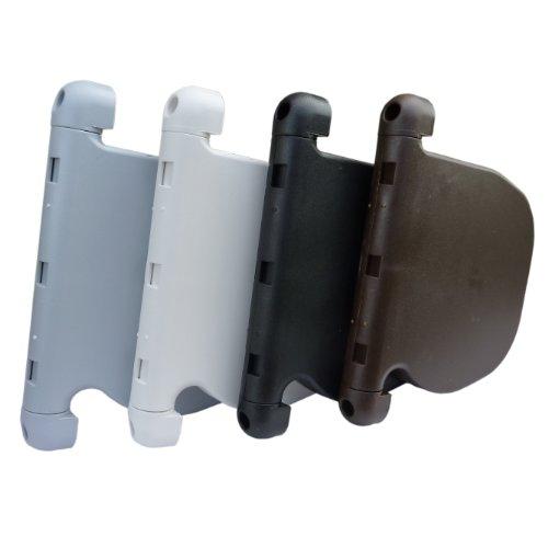 Rollladen Design Gurtwickler für 14mm Gurtband 180° schwenkbar für Rolladen und Jalousien Aufputz: Weiß