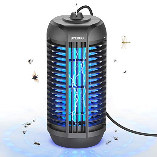BYEBUG 4200V Electric Bug/Mosquito Zapper for Outdoor and Indoor, Mosquito Killer, Fly Insect Trap for Patio, Backyard, Home